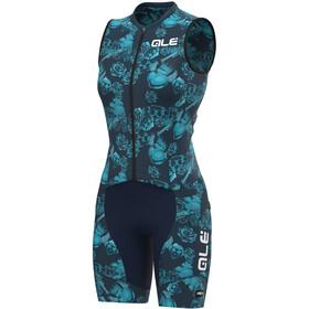 Alé Cycling PRR Las Vegas SL Unitard Women, blue/turquoise